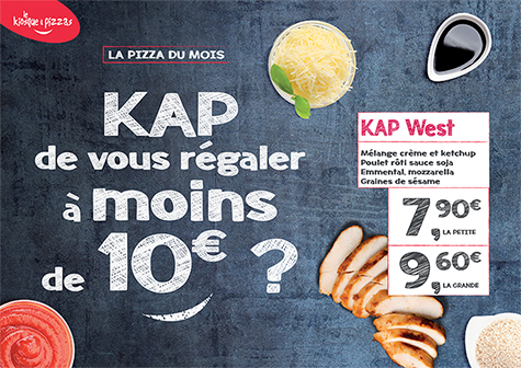 Le kiosque à pizzas de VIENNE  - la pizza du mois