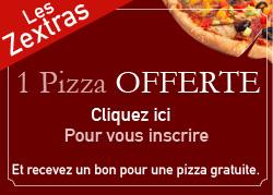Pizza à emporter - Les Zextras