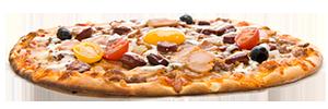 Les pizzas gourmandes