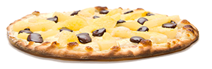 Les pizzas sucrées