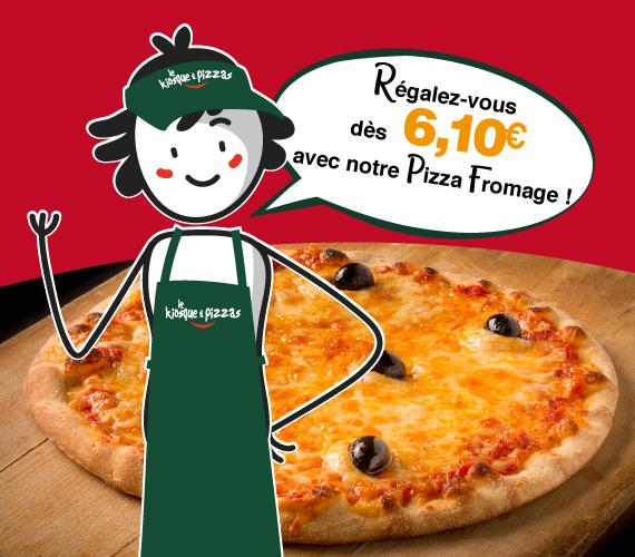 Pizzas à Emporter Partout En France Le Kiosque à Pizzas